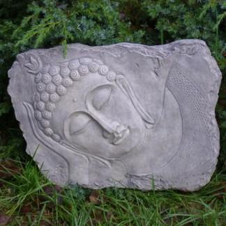 Relief Buddha liegend