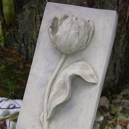 Relief Tulpe wandhängend 1 - Relief Tulpe wandhängend
