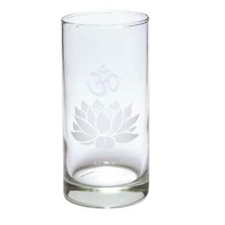 Teelichthalter Glas Om Lotus