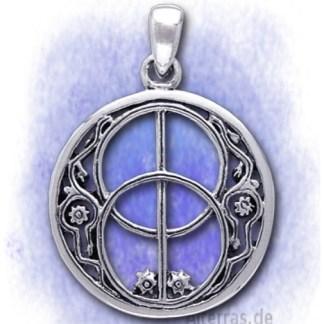 Anhänger Avalon Symbol aus 925-Silber