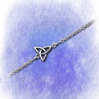 Armband mit Charmed Zeichen aus 925-Silber