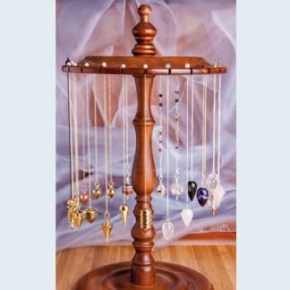 """Pendelständer Holz gefüllt 24 Pendel - Radiästhesie - """"Pendelständer Holz gefüllt (24 Pendel)"""""""