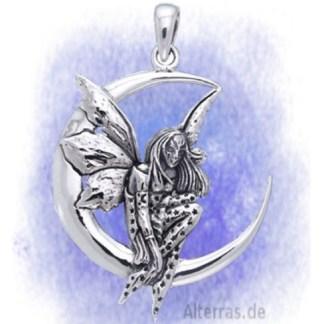Anhänger Elfenmond aus 925-Silber