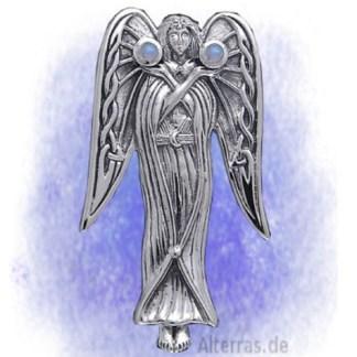 Anhänger Engel der Inspiration aus 925-Silber