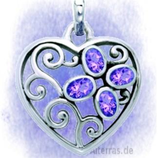 Herzen aus 925 Silber