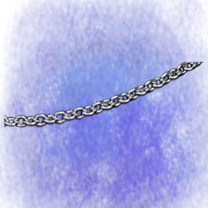 Kette Ankerkette – rund - 3,2mm aus 925-Silber