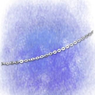 Kette Ankerkette - flach - 1,2mm aus 925-Silber