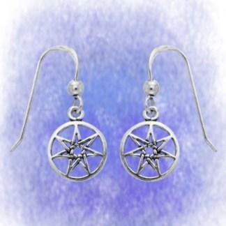 Ohrringe Elfenstern klein aus 925-Silber