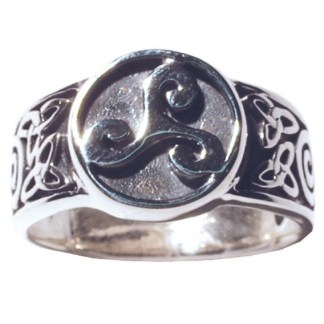 Ring Keltische Triskele 925 Silber