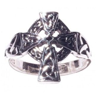 Ring Keltisches Kreuz 925 Silber
