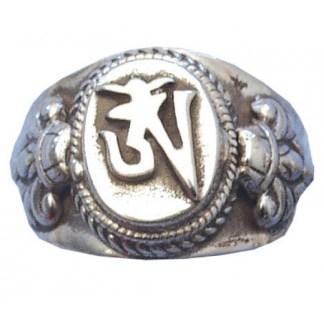 Ring Om Zeichen 925 Silber