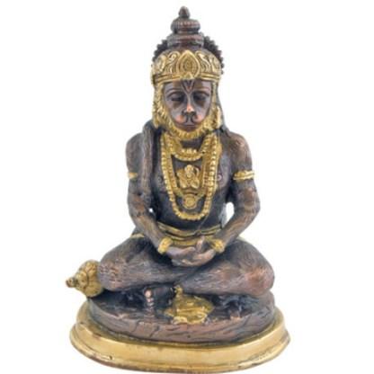 Hanuman sitzend 19,5cm