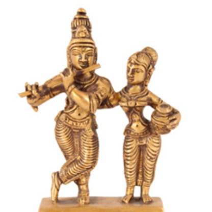 Krishna Radhe-Krishna stehend 16cm