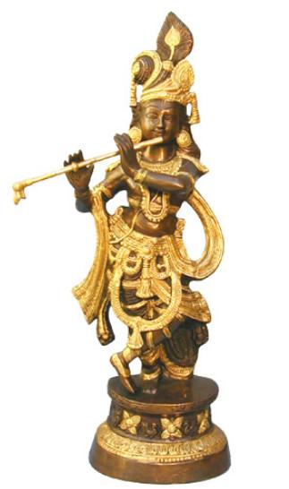 Krishna, stehend, 65cm2