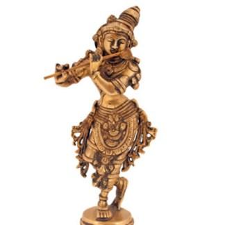 Krishna stehend fein 23cm