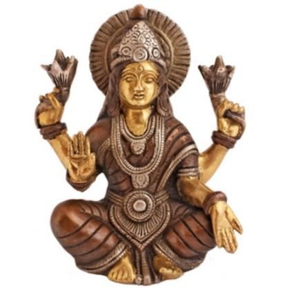 Lakshmi sitzend 15cm