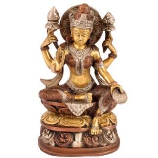 Lakshmi sitzend 21cm