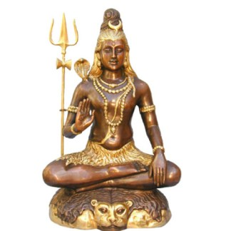 Shiva sitzend 60cm