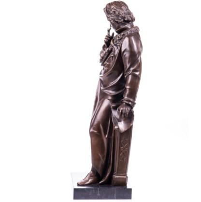 "Bronze Figur Beethoven stehend 71cm3 - Bronze Figur ""Beethoven - stehend"" 71cm"