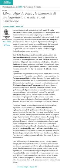 Il Fatto Quotidiano.it Domenica 14 08 2016