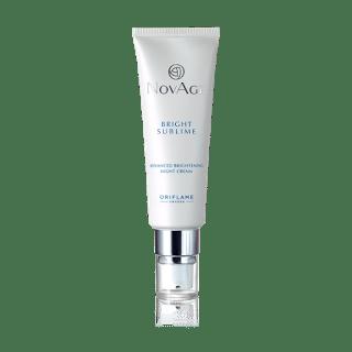 Oriflame Novage Bright Sublime Review novage night cream