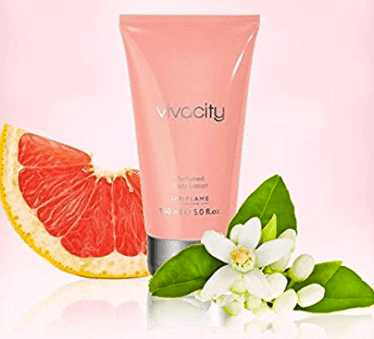 Oriflame Vivacity Body Lotion Review product