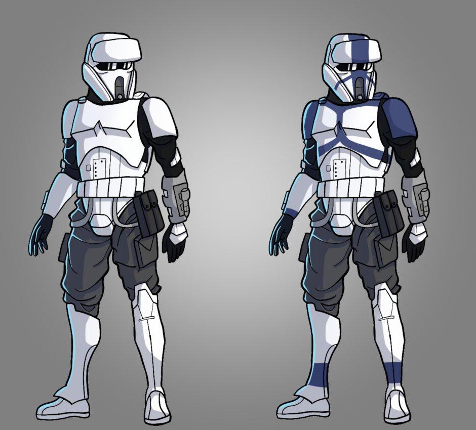 Ranks Wars Stormtrooper Star