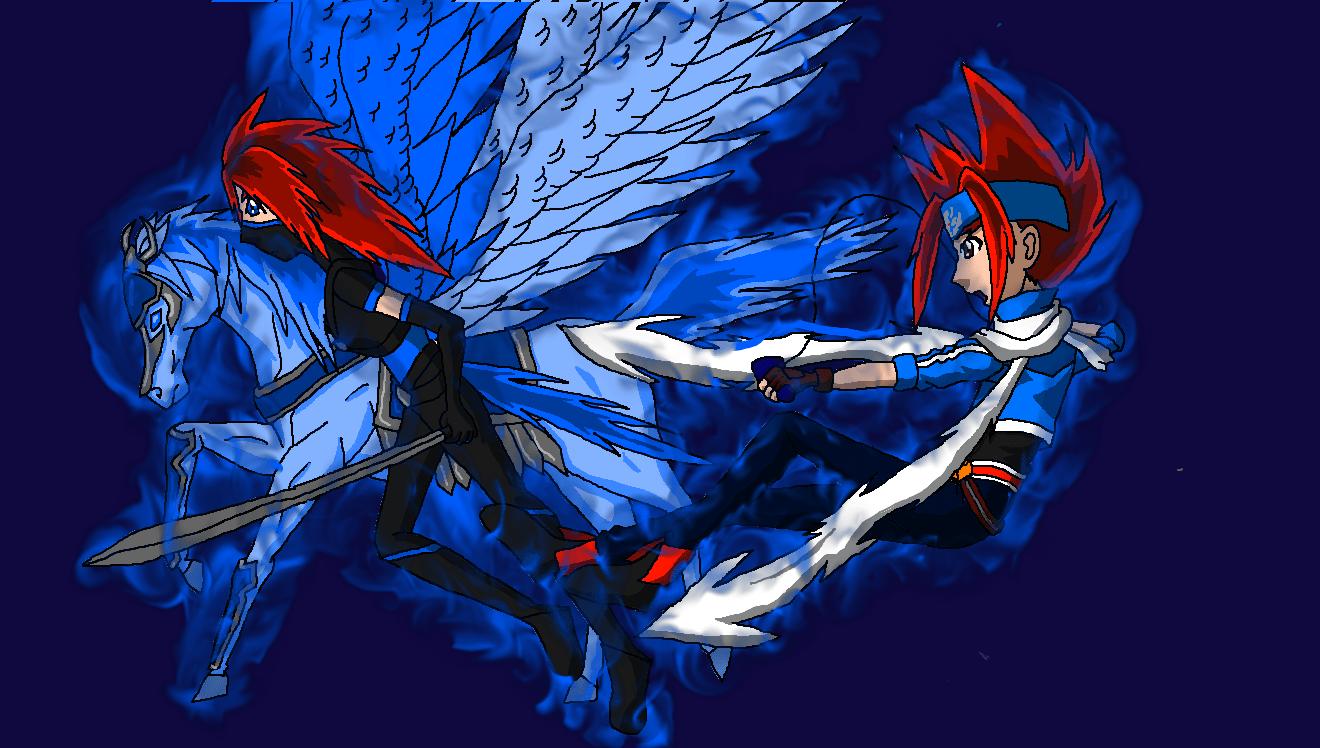 Pegasus Wallpaper Beyblade