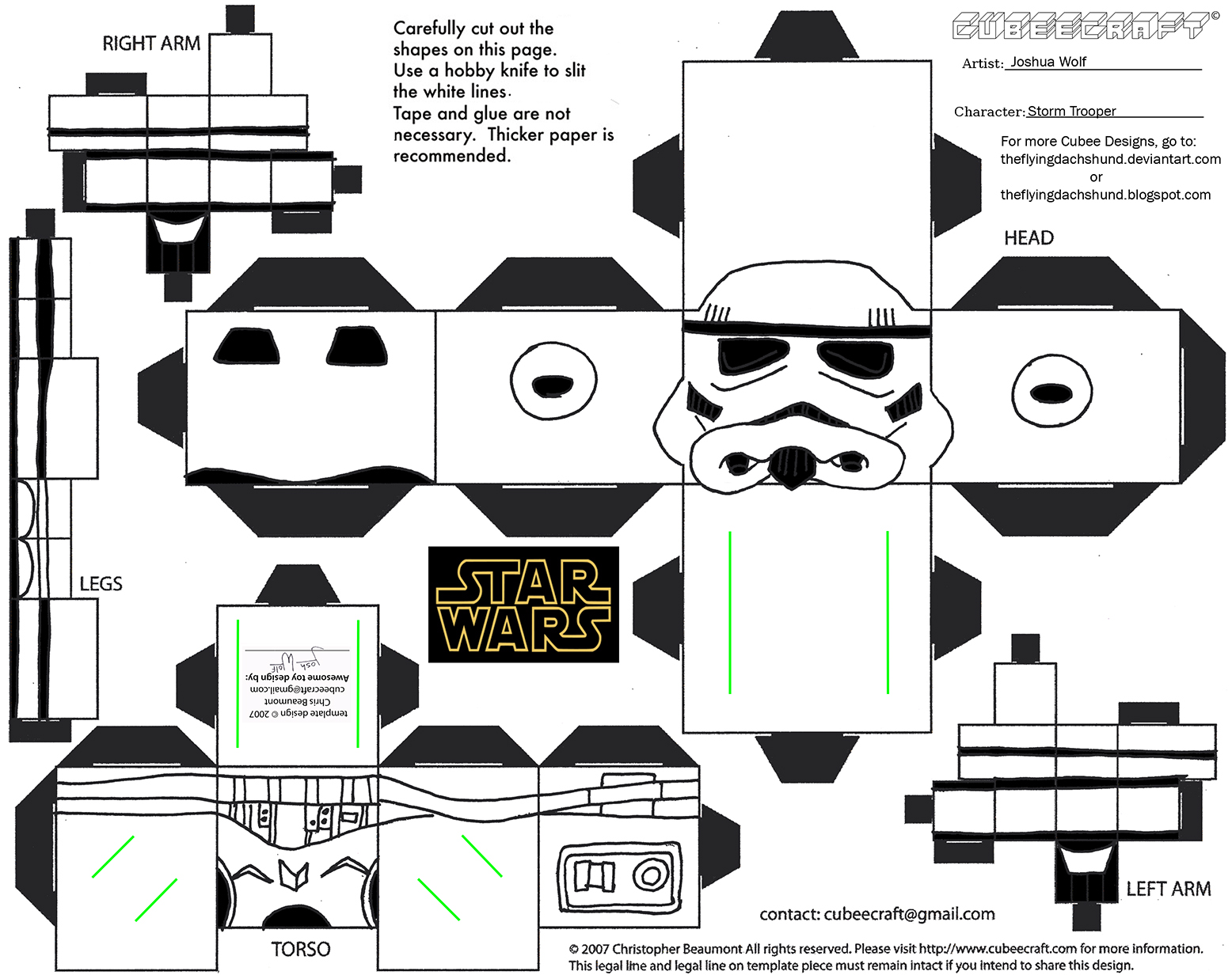 Sw8 Storm Trooper Cubee By Theflyingdachshund On Deviantart