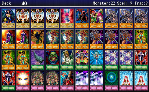 Mai Valentines Battle City Deck For YGOPRO By