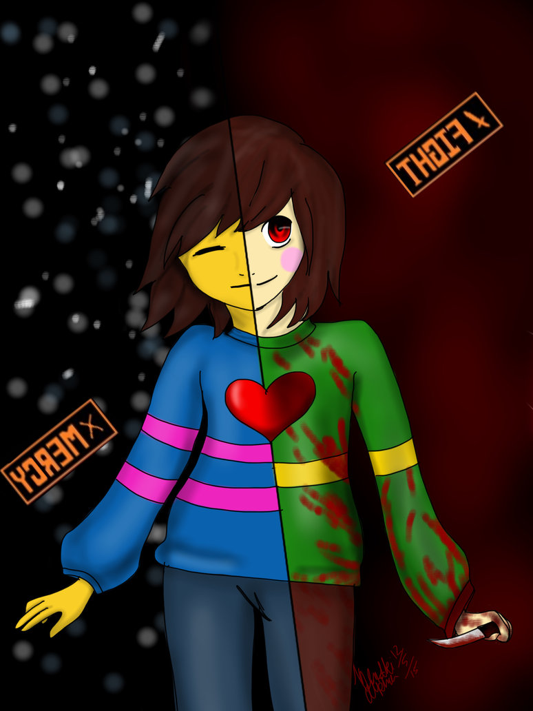 Undertale Dont Think About Her Chapter 23 By