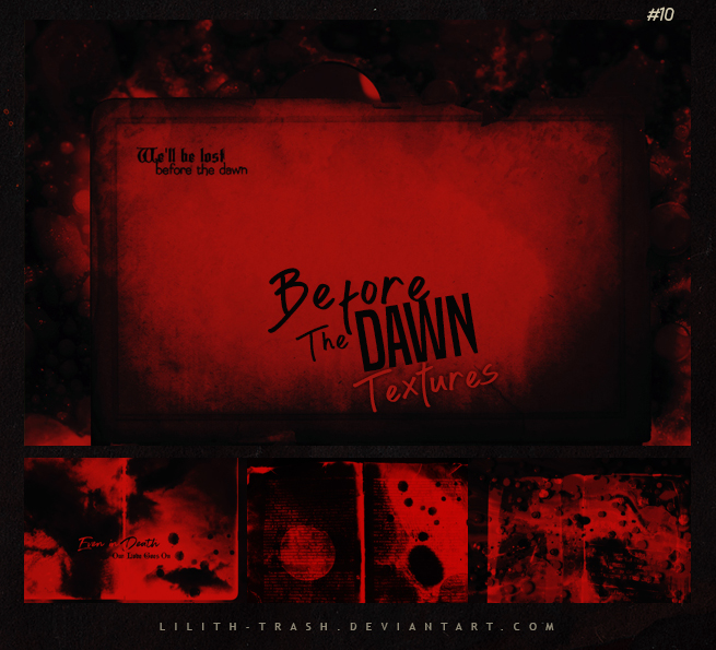 Before the Dawn Texture Pack #10 by Lilith-Trash