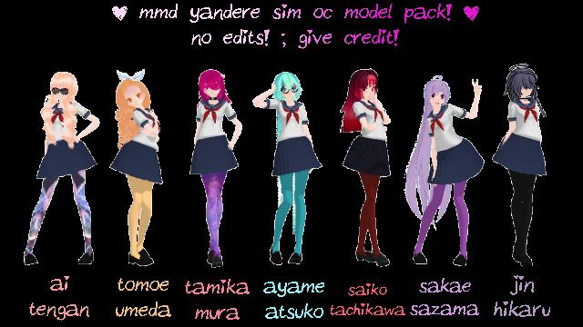Yandere Sim Characters Names