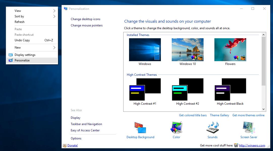 Download Personalisation Panel For Windows 7 Starter Free
