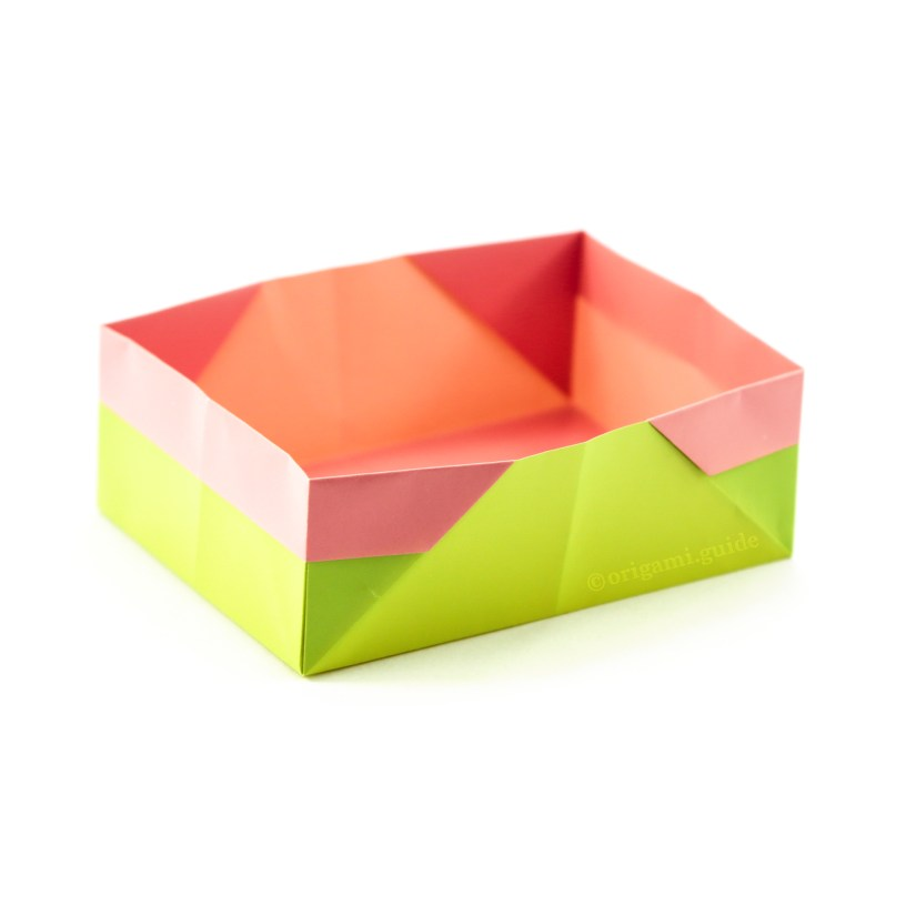 How To Make A Traditional Rectangular Origami Box Origami Guide