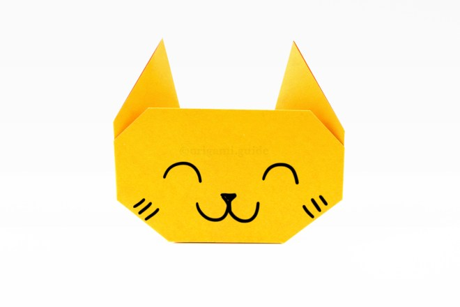 13. You can draw a cute cat face on it!