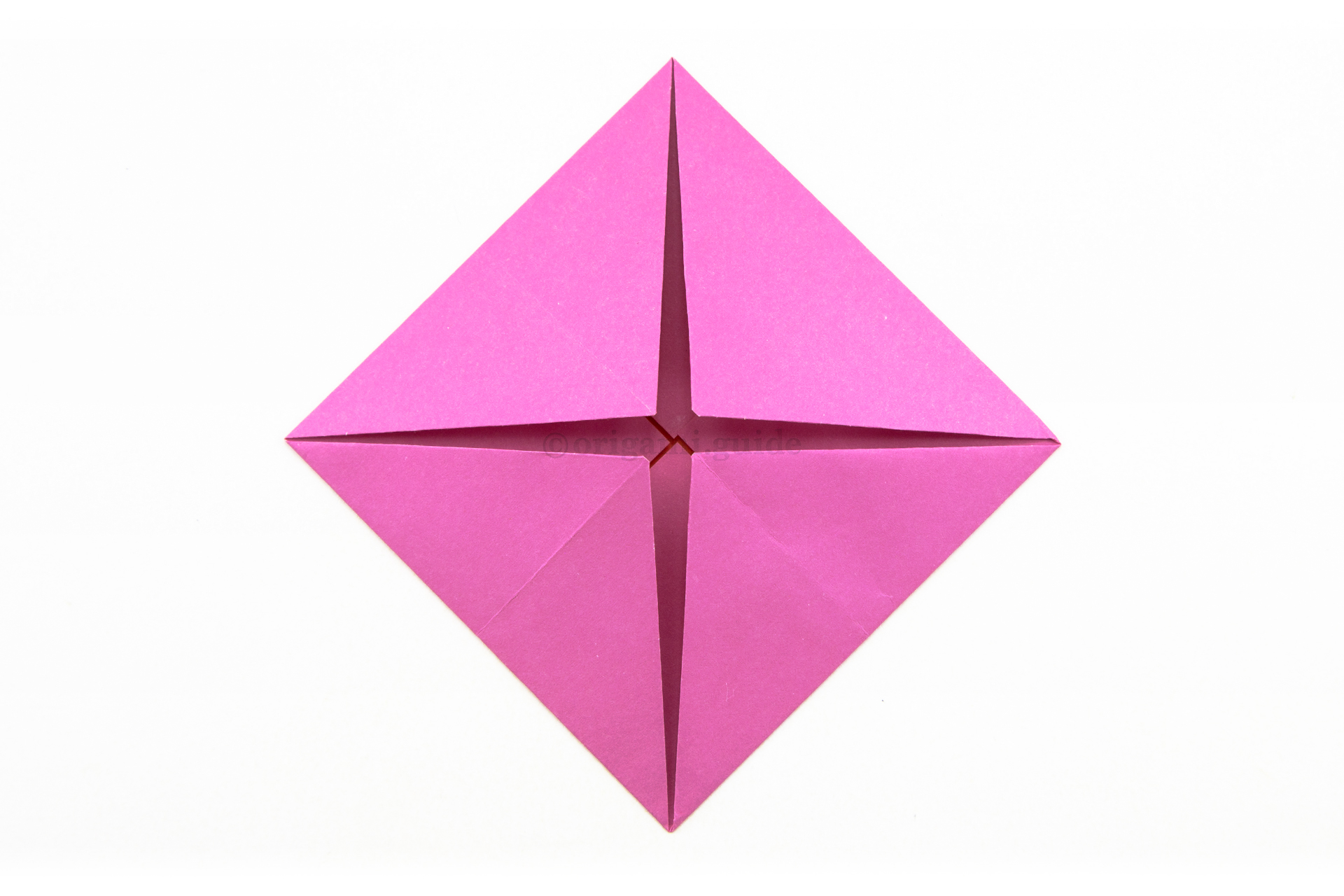 How To Make An Origami Lotus Flower Origami Guide Part 2