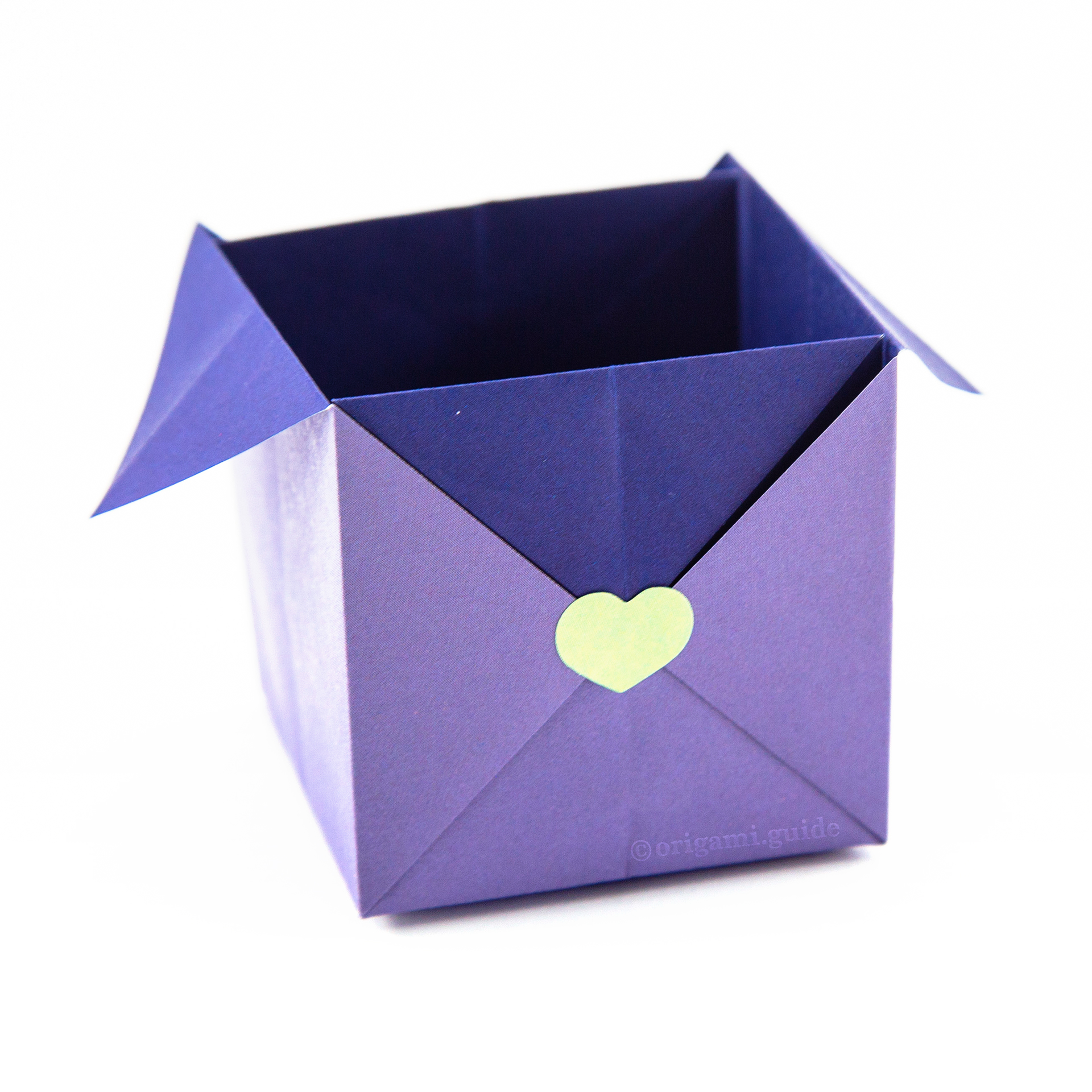 Origami Spice Boxes Tutorial - Stacking Box - Paper Kawaii - YouTube | 1920x1920