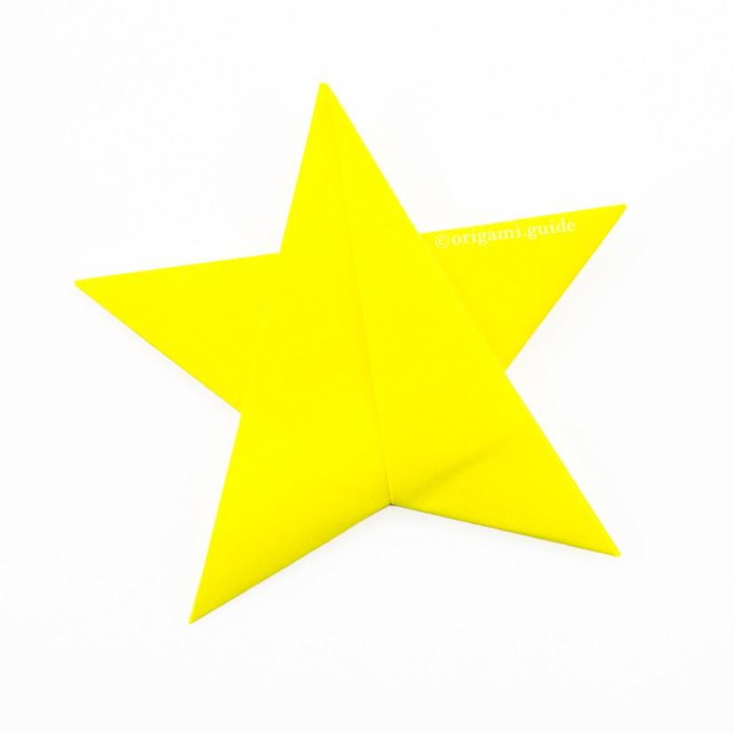 How To Make An Easy Origami Star