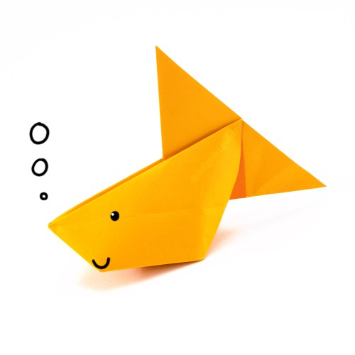 How To Make An Inflatable Origami Bunny Rabbit