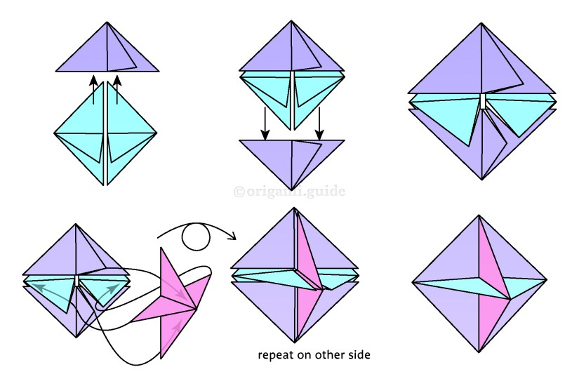 19. Here is a helpful diagram clearly showing where each module's point should go.