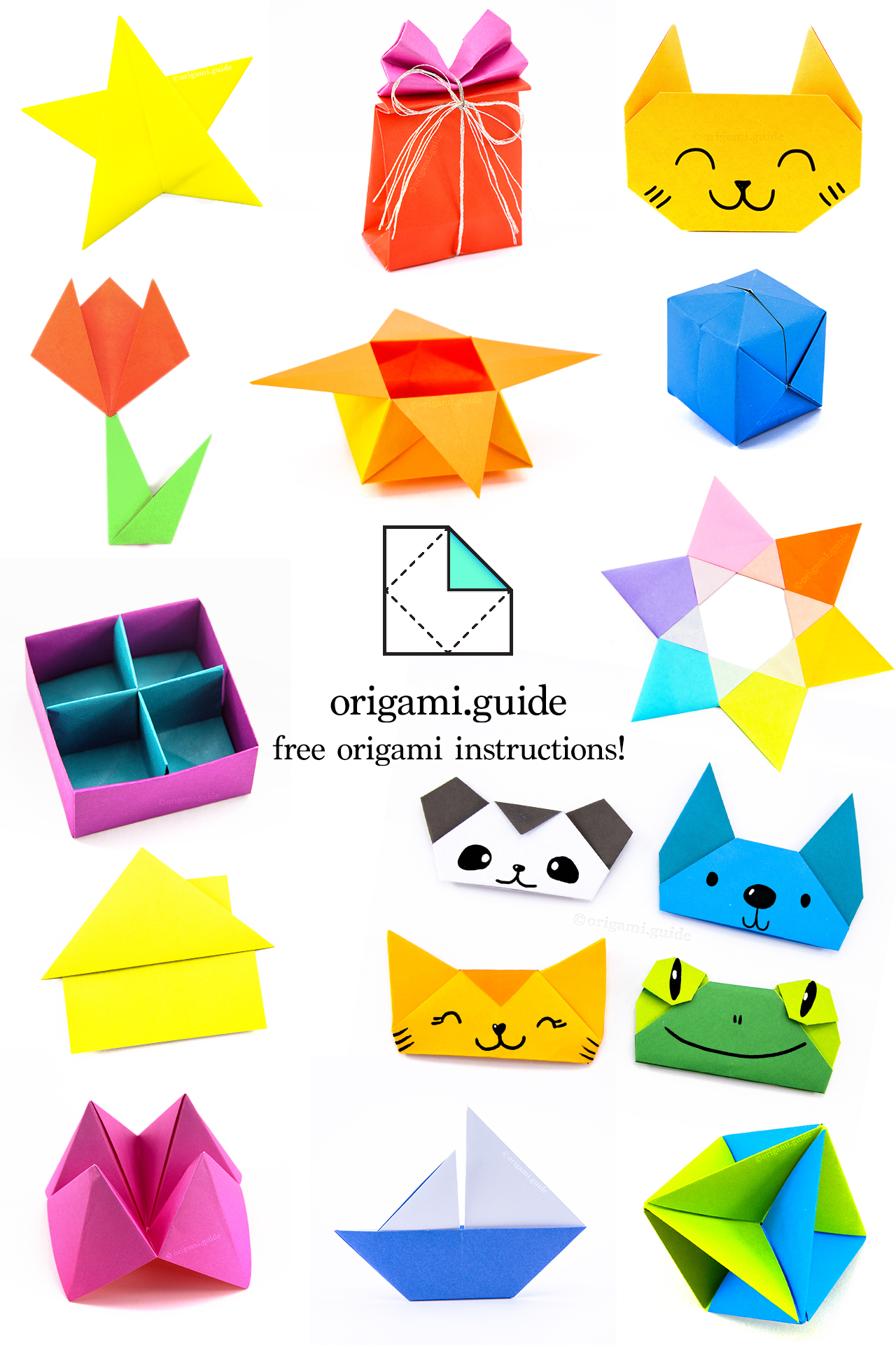 Easy Origami Frog Instructions & Tutorials | 1920x1280