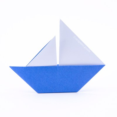 How To Make An Origami Yacht Toy