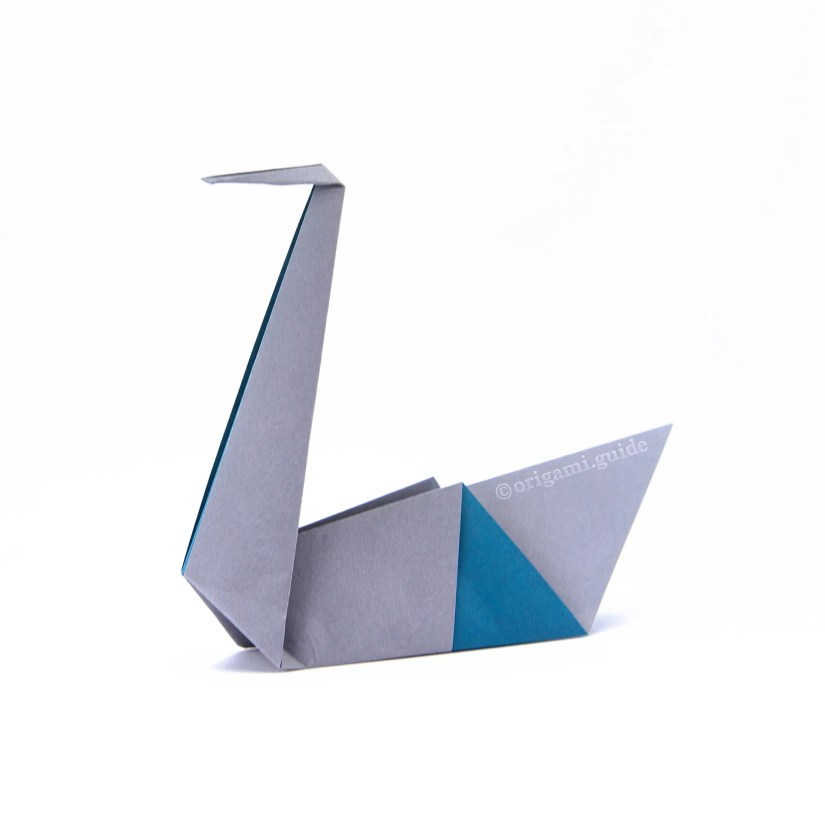 How To Make An Easy Origami Swan - Via @origamiguide