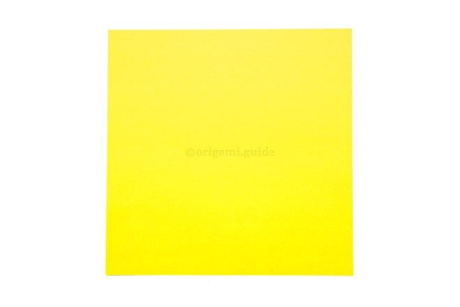 2. This is the front of the paper, the box will end up being this colour.