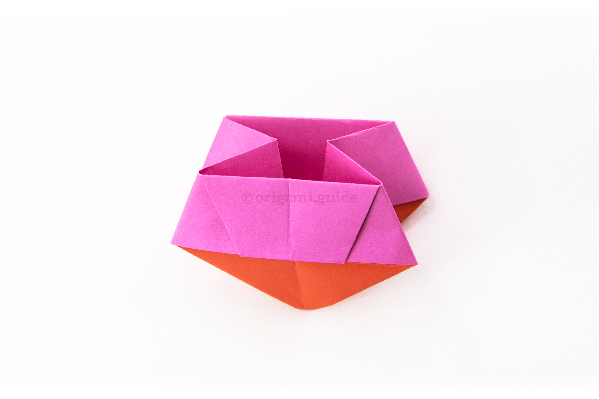 Origami candy box - How to make Origami open candy box , Easy step ... | 1280x1920