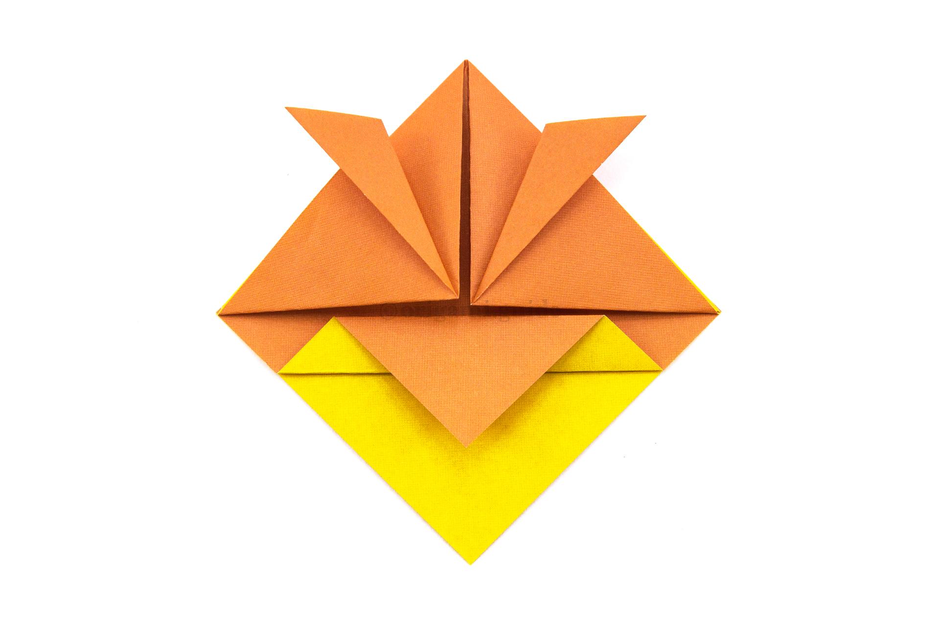 3d Origami Top hat Purple Penguin by Merleus on DeviantArt | 1280x1920