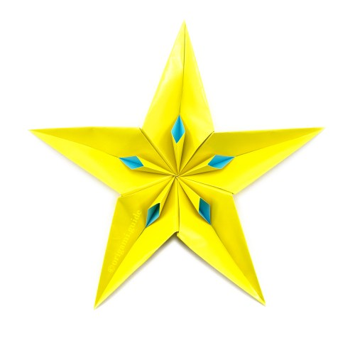 How to How to Make an Origami Star - Snapguide | 500x500