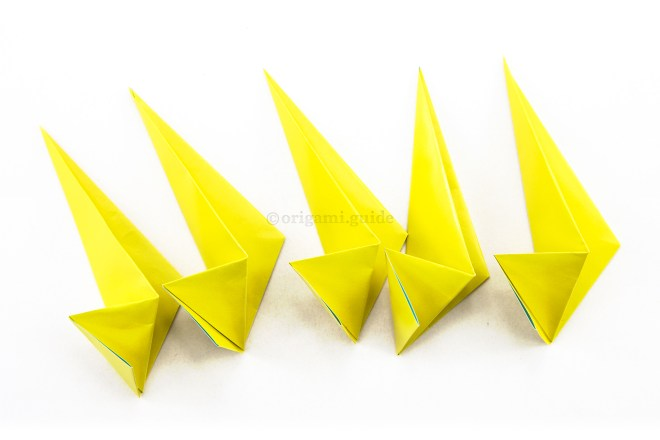 15. Fold as many of these modules as your star needs (up to 8).