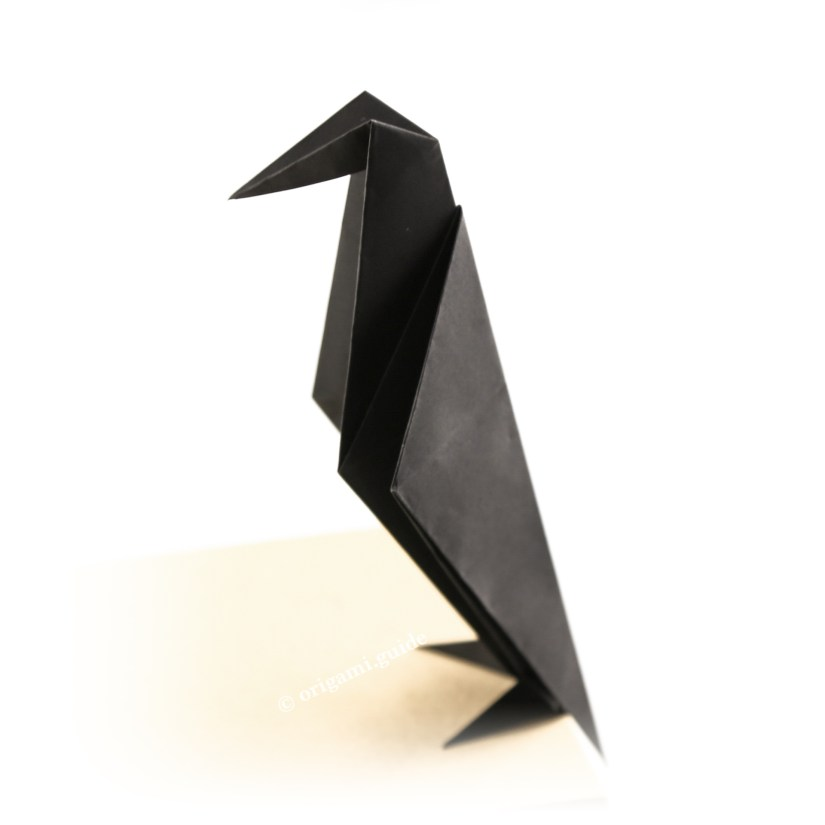 How To Make An Origami Crow